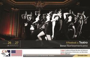 Invitación Teatro Breve Norteamericano