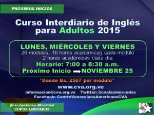 20151015 NUEVOS INICIOS INTERDIARIOS_NOVIEMBRE 25