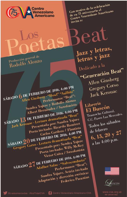 Poetas Beat afiche