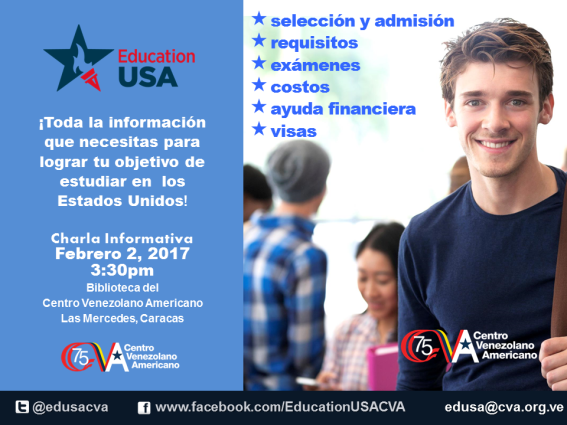 Promo Charla Mensual EducationUSA CVA 2017_FEBRERO