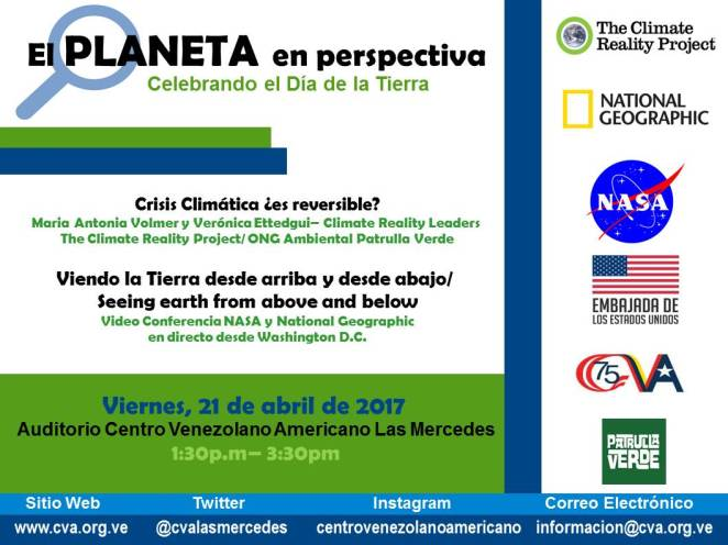 Invitacion Earth Day
