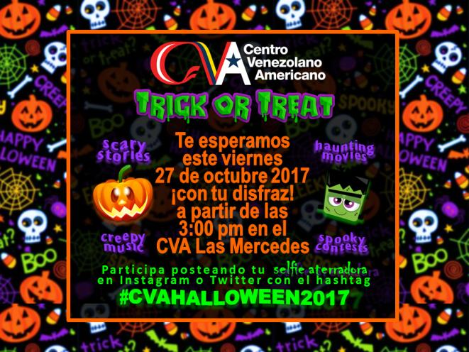 Halloween 2017 invitacion con marco