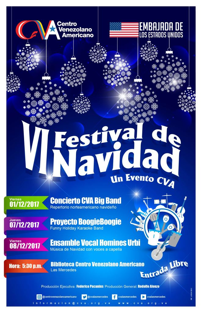 Afiche Festival de navidad CVA AF-01