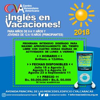 Vacacionales CVA 2018