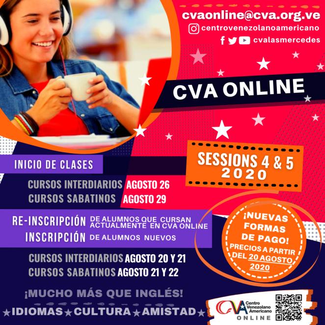CVA ONLINE ANNOUNCEMENTS